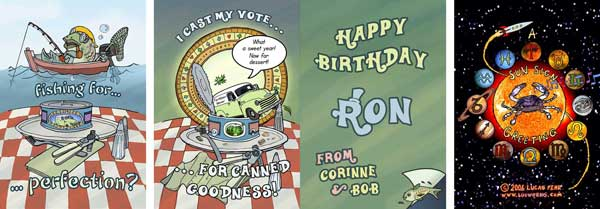 Canned Goodness Birthday Card