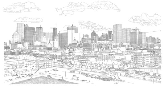Montreal drawing