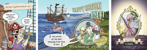 Pirate Birthday Booty Card